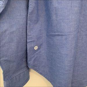 Lululemon Button Down slim fit long sleeve